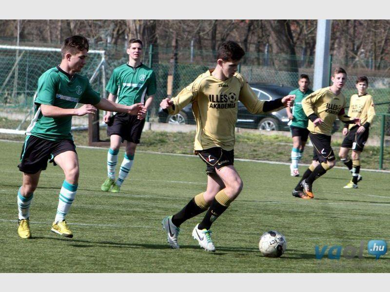 Varga Kevin négy gólja – Az Illés Akadémia hétvégi eredményei (Képgalériával)