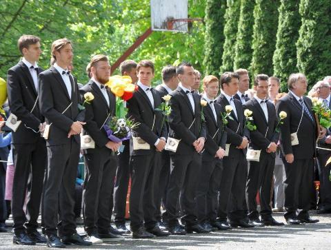 """2015.04.30-""""Elballagott az ötödik labdarúgó évfolyamunk…"""