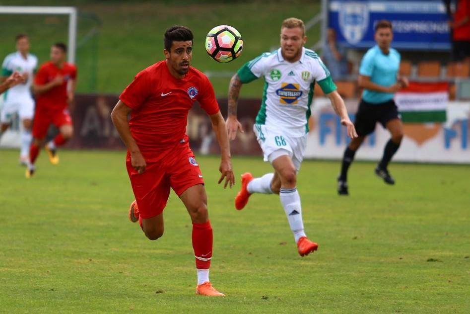 Nemzetközi mérkőzésen bemutatkozott Molnár T.,Tiba L.,és Varga K., az első csapatban.