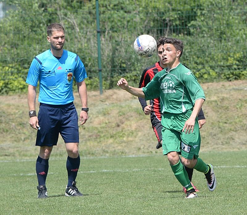 Az U15-ös csapat csereként beállt kapusa is gólt szerzett