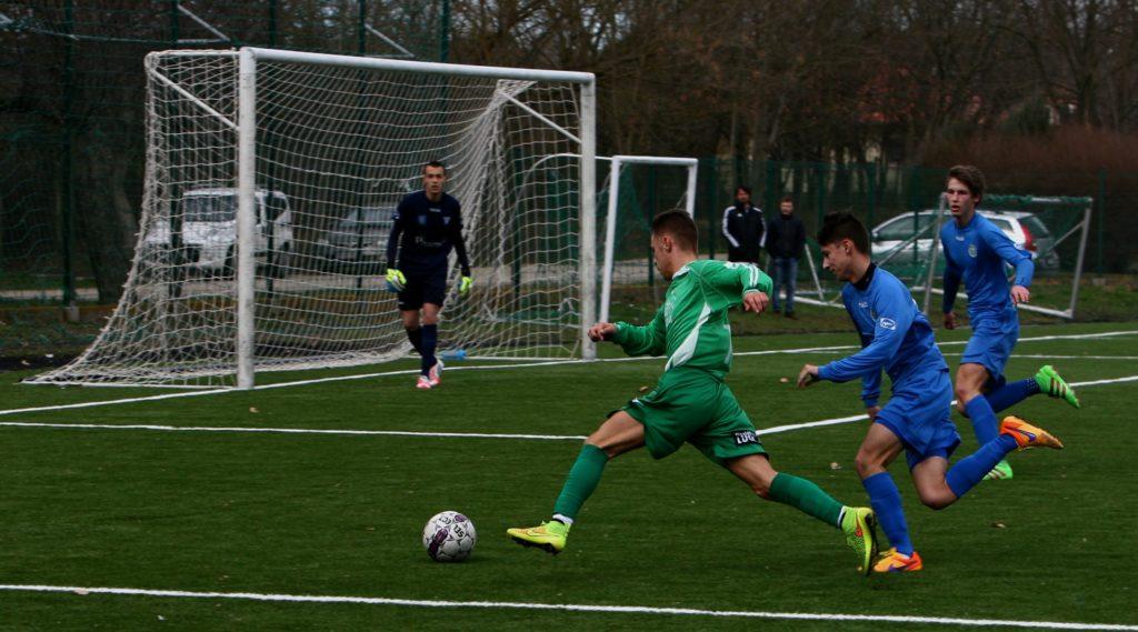 Változatos meccsen játszott döntetlent az U17-es csapat