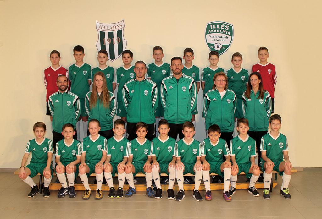 Esztergomban a Piski Elemér Emléktornán 5. helyet szerzett az Illés Akadémia U12-es csapata