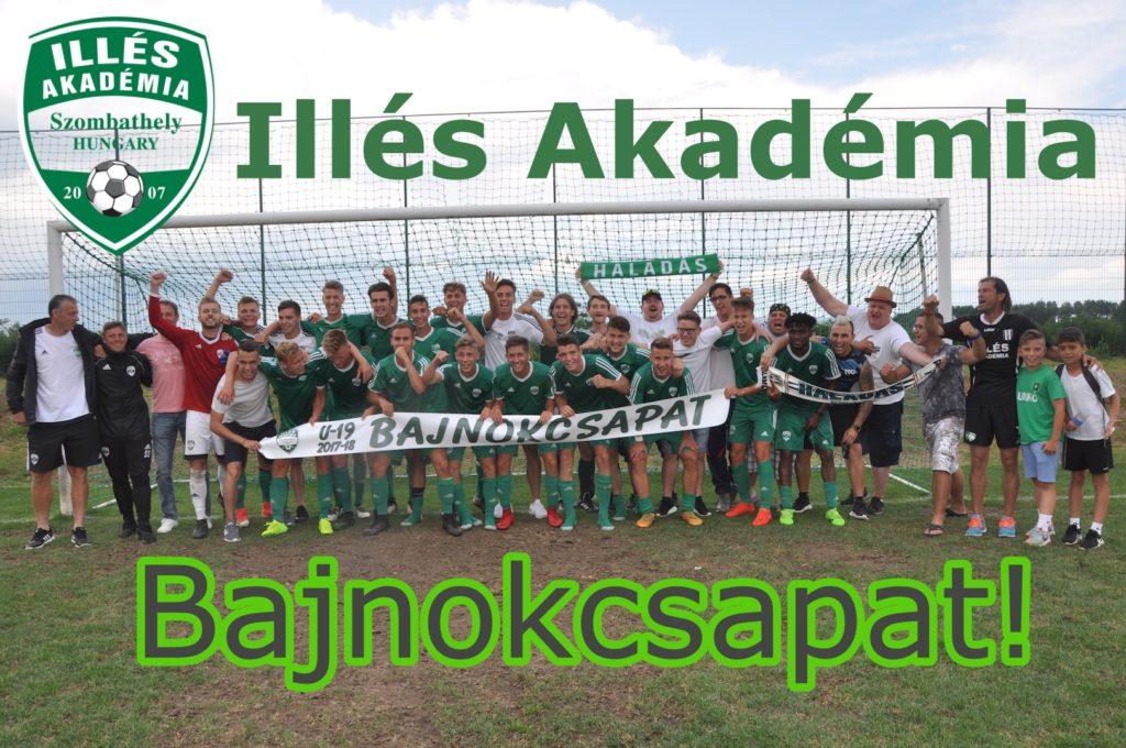 Bajnok az U19-es csapat!