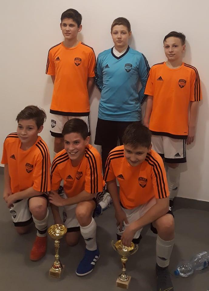 U13 futsal megyei döntő: bajnoki cím az Illés Sport Alapítványé
