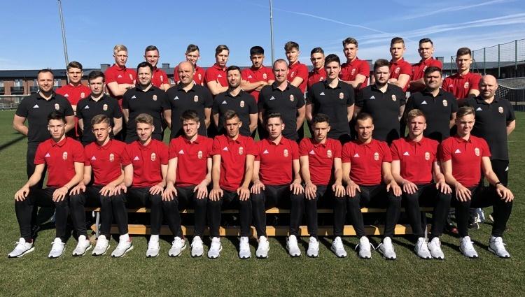 Kiss Ágoston és Bolla Gergő az U19-es válogatottban
