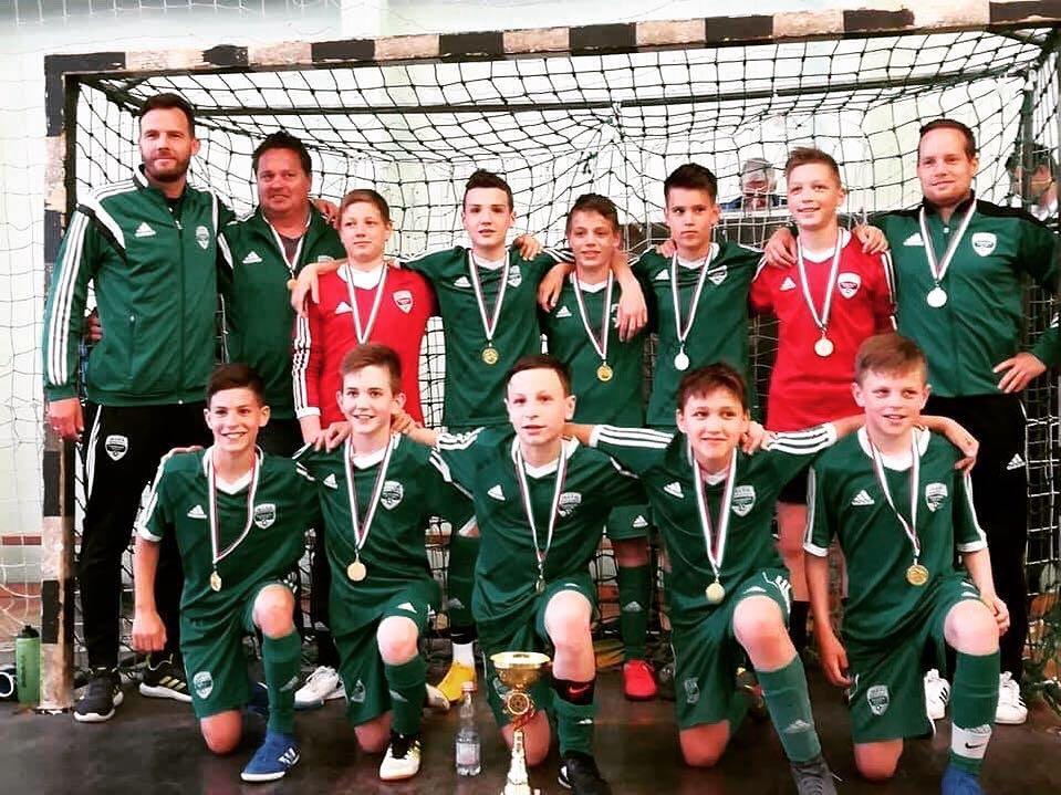 Illés U13: Veszprémben megnyertük a futsal régiós döntőt