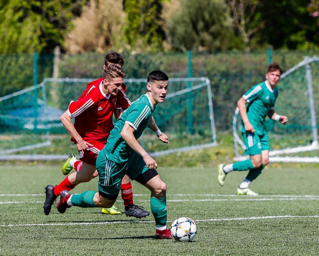 Tizenegy gólt vágtak az U15-ösök