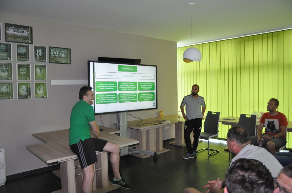 Szlovén edzők az Illés Akadémián