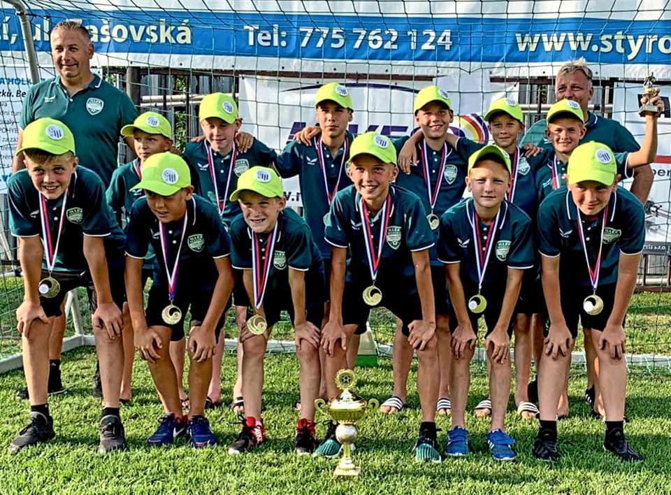Illés AKA U12 : bravúros tornagyőzelem született Csehországban