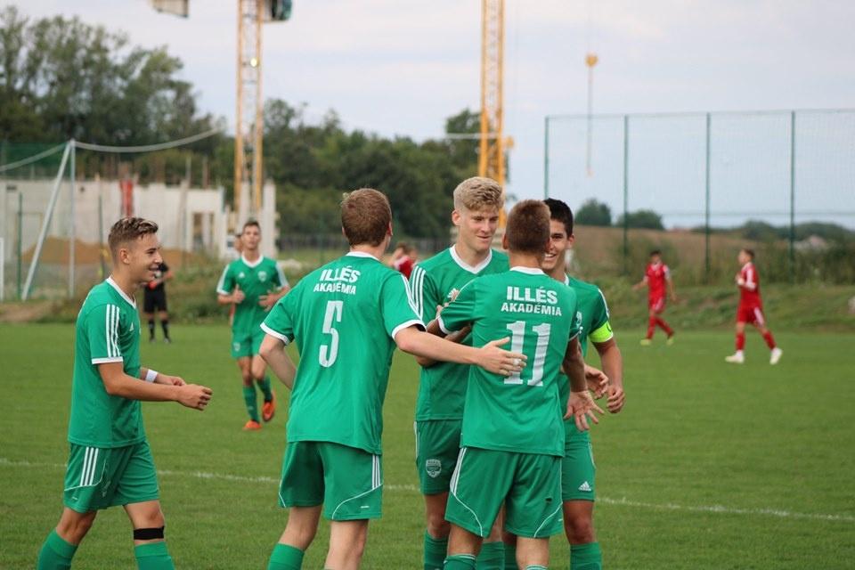 Óriásit hajrázott az U17-es csapat