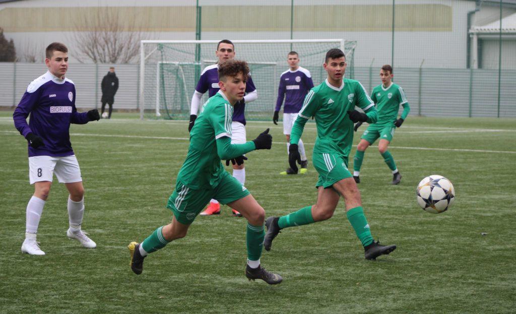Fölényes győzelmet aratott U17-es csapatunk
