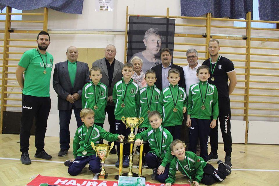 A Szarka Zoltán emléktorna győztese a Lurkó U8-as csapata