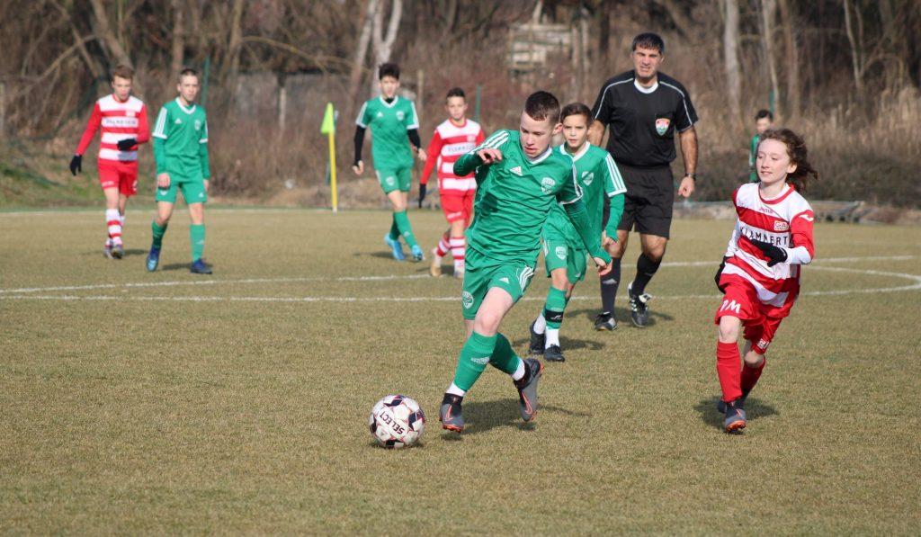 Győzött az U13-as csapat az osztrákok ellen