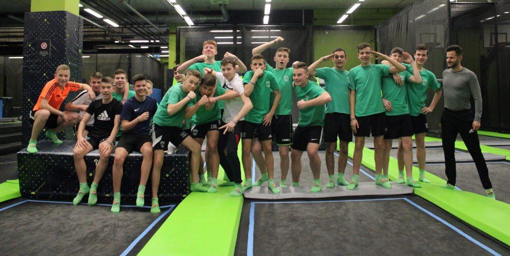 U15-ös csapatépítő tréning Győrben