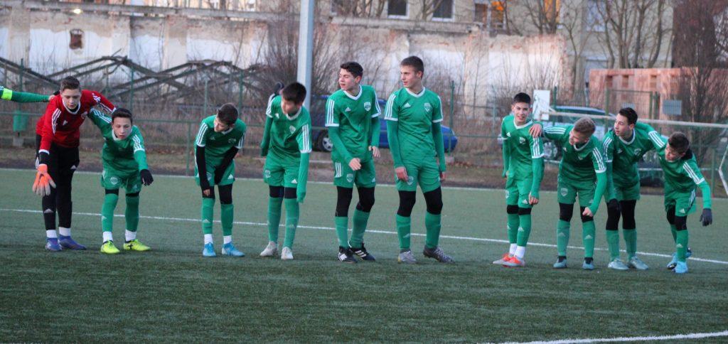 Kikapott az U14-es csapatunk hazai pályán