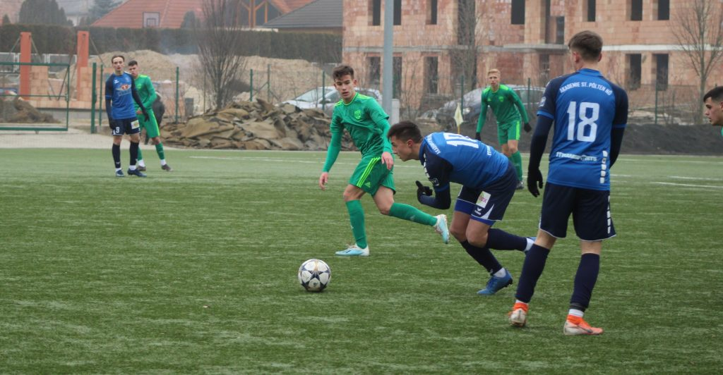 Egy góllal kikapott az U19-es csapat a bajnoki főpróbán