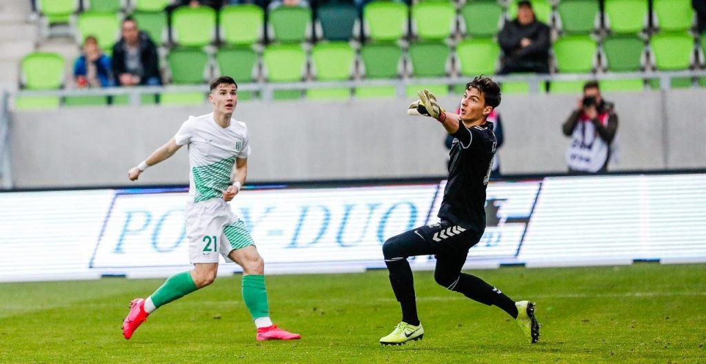 Megint 0–0-át játszott a Szombathelyi Haladás