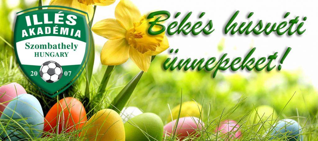 Boldog húsvéti ünnepeket kívánunk!