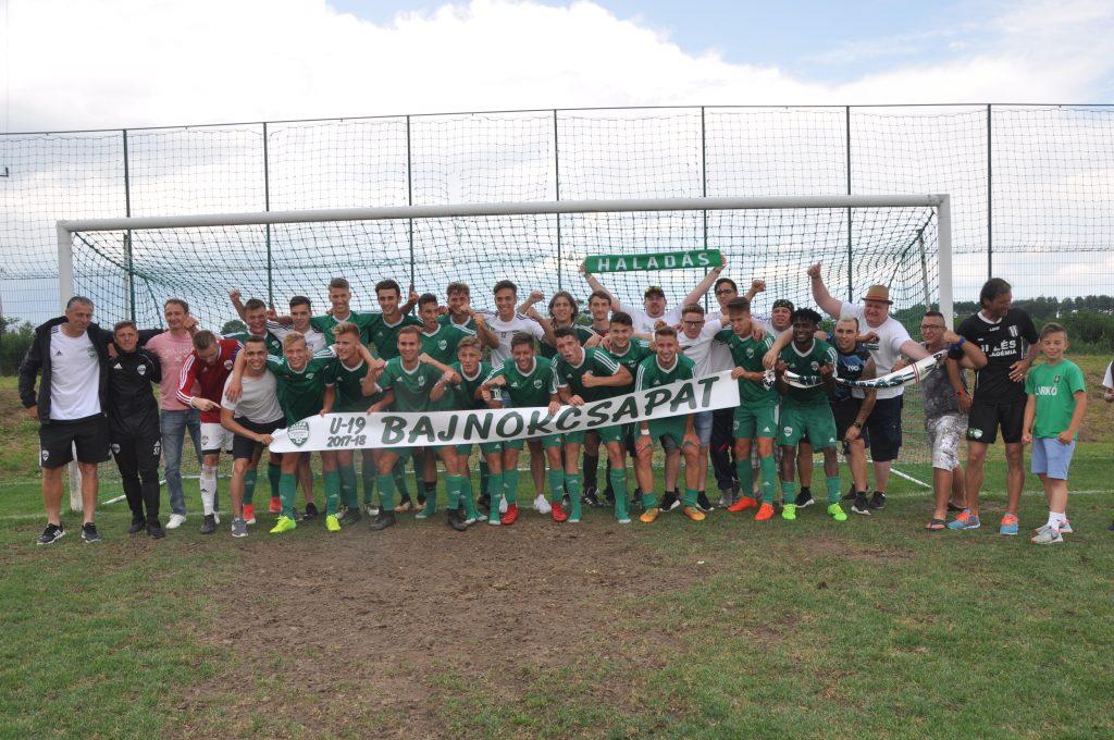 Két éve nyert bajnokságot az Illés Akadémia U19-es csapata