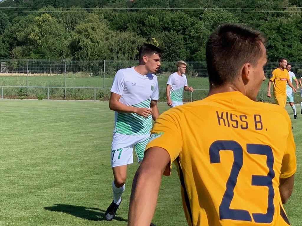 Auer Ákos és Tóth Milán is egy félidőt játszott a Haladásban