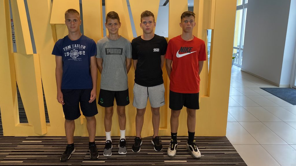 Az Illés Akadémia négy játékosa vett részt az U15-ös válogatott összetartásán