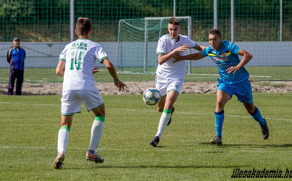 Nem született gól az U16-osok meccsén