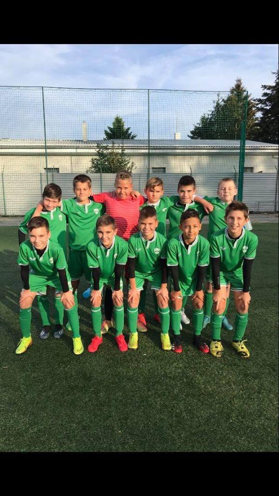 Négy góllal győzött az U12