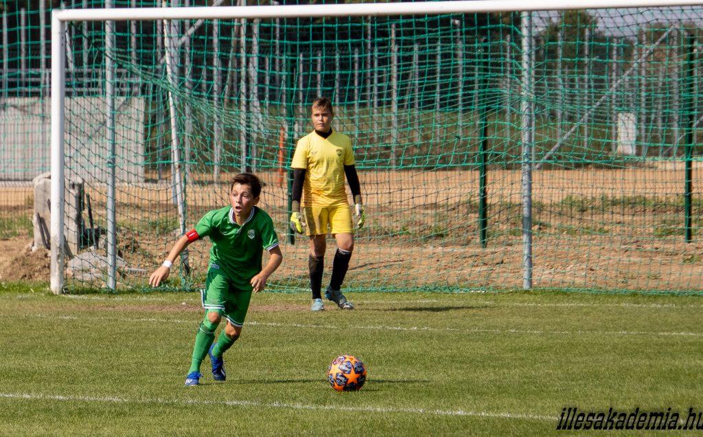 Nem született gól az U14-esek találkozóján