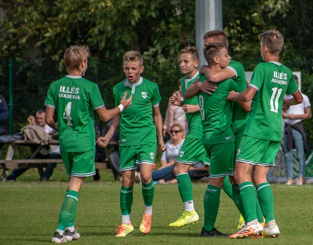 Öt góllal nyertek Németh Richárd U15-ösei