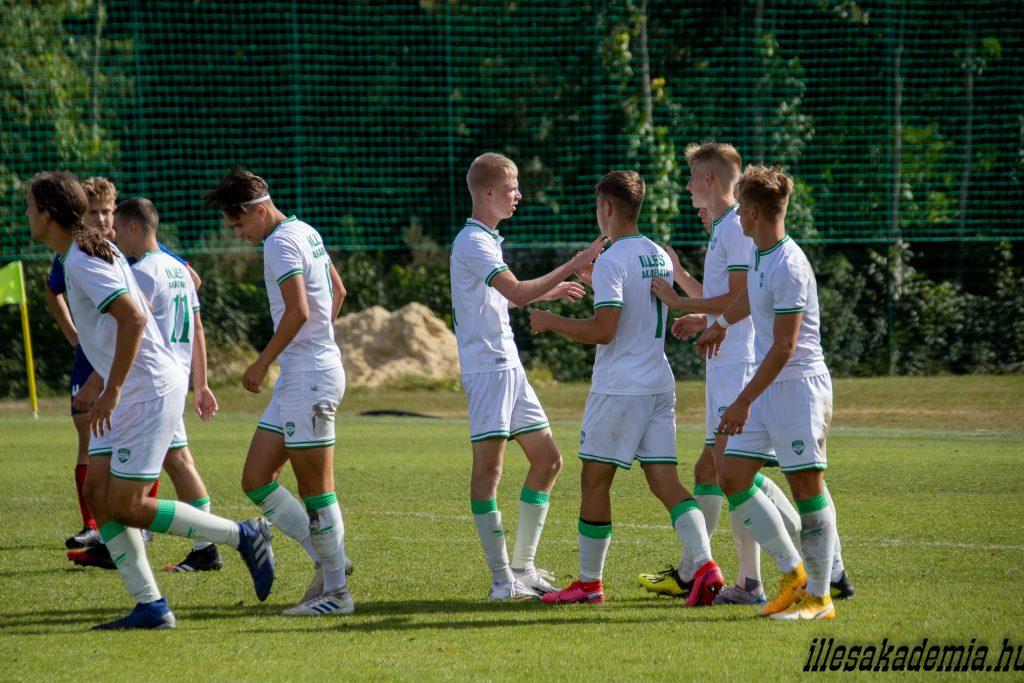 Nyolc gólt rúgott az U17-es csapatunk