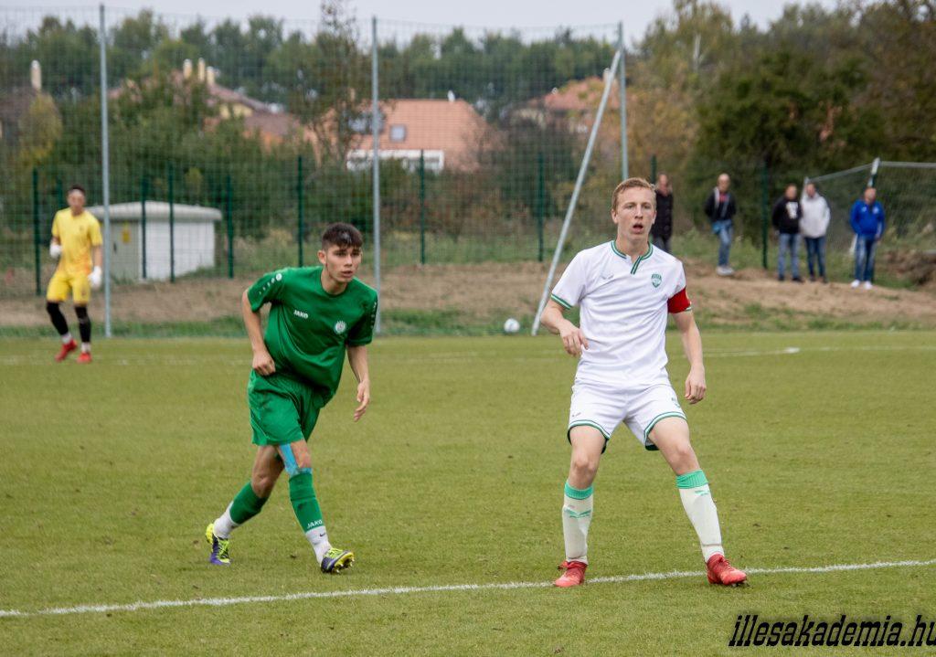 Győrből hozta el a három pontot az U17
