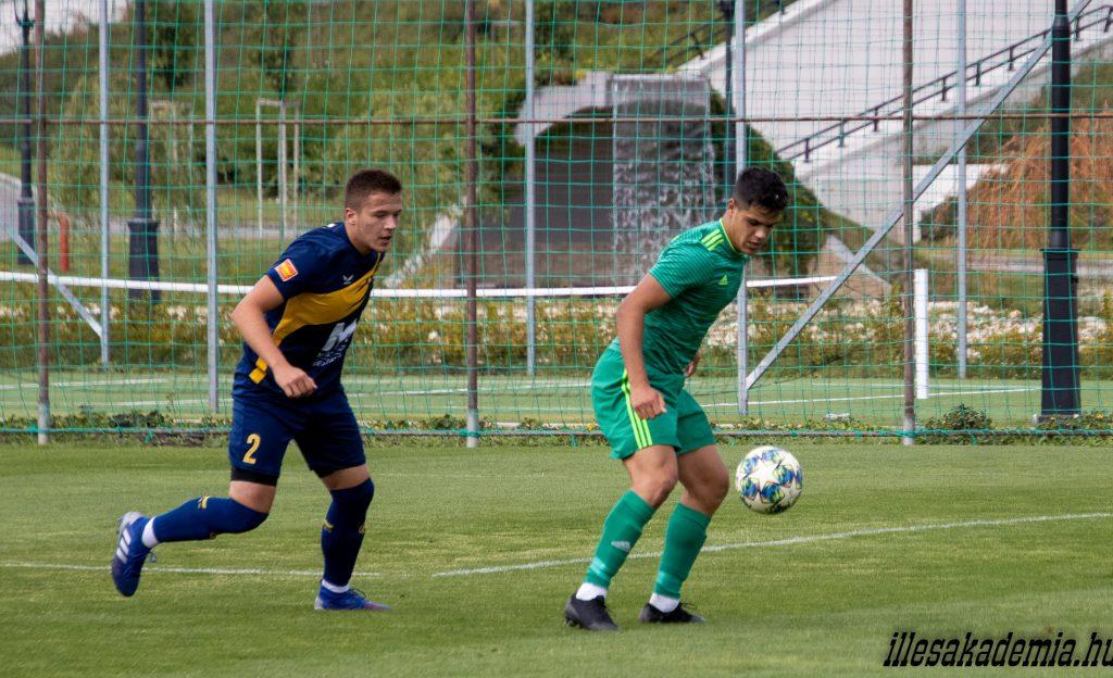 Edzőmeccset nyert Zalaegerszegen az U19