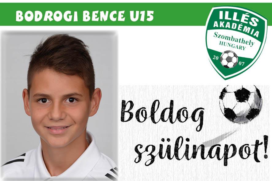 Boldog születésnapot, Bence!