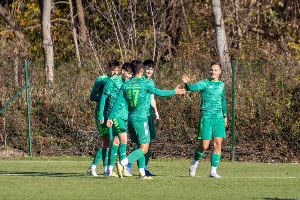 Kállai Kevin duplázott: 4–3-ra nyert az U19-es csapat