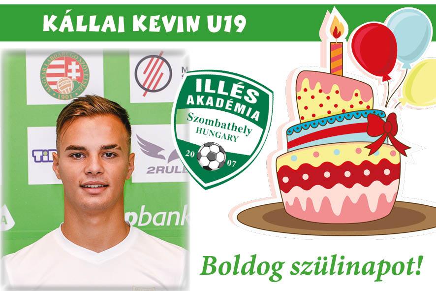 Boldog születésnapot, Kevin!