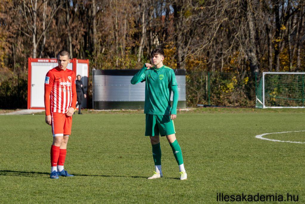 Szoros meccset játszott az U19