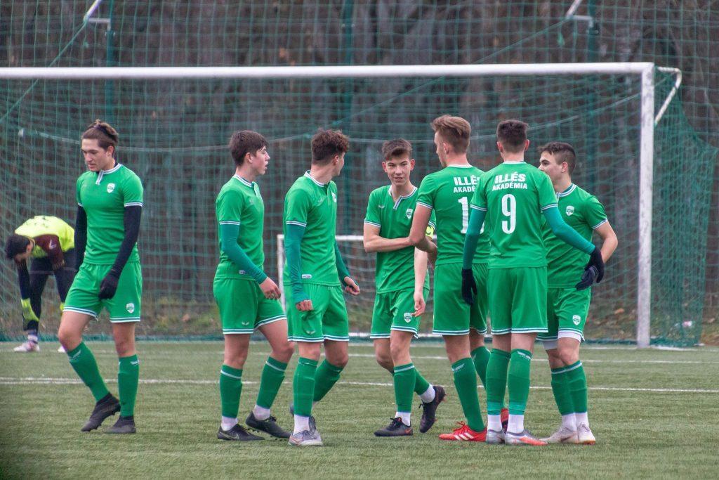 Négy gólt szerezve nyert tesztmeccset az U16
