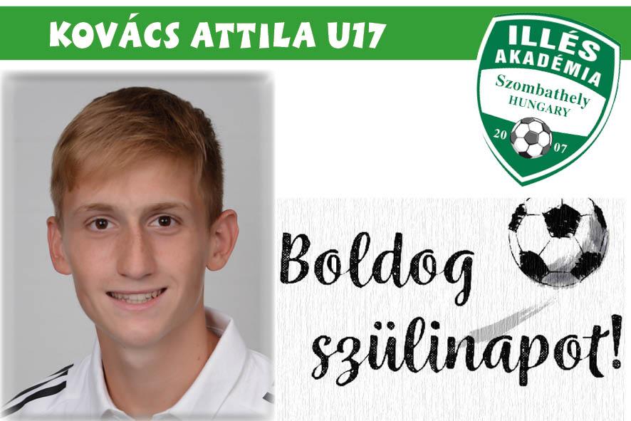 Boldog születésnapot, Attila!