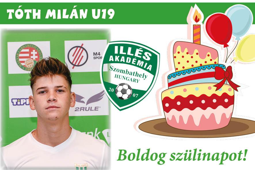 Köszöntünk születésnapod alkalmából, Milán!