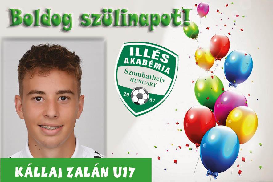 Boldog születésnapot, Zalán!