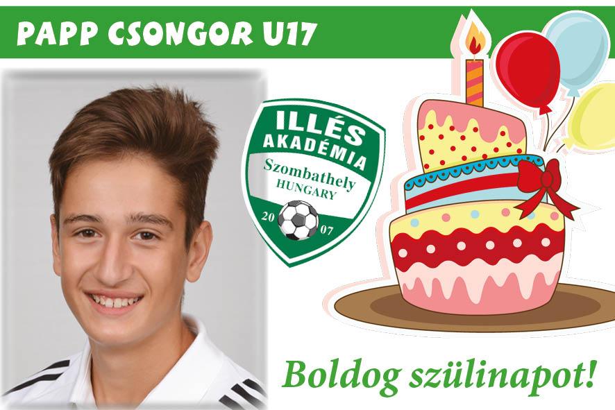 Nagyon boldog születésnapot, Csongi!