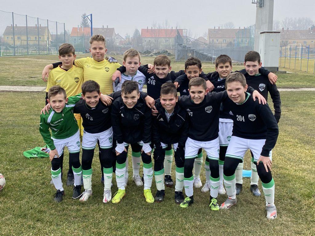 Az U12-es csapatunk simán győzött idegenben