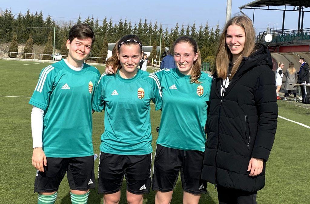 Három akadémistánk vett részt a női U19-es válogatott összetartásán