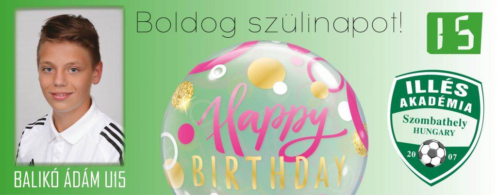 Nagyon boldog születésnapot!