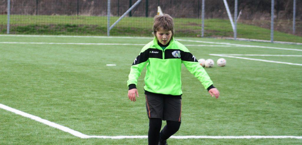 A tizenegy esztendős Szélessy Hédi góljainak köszönheti győzelemét U14-es csapatunk