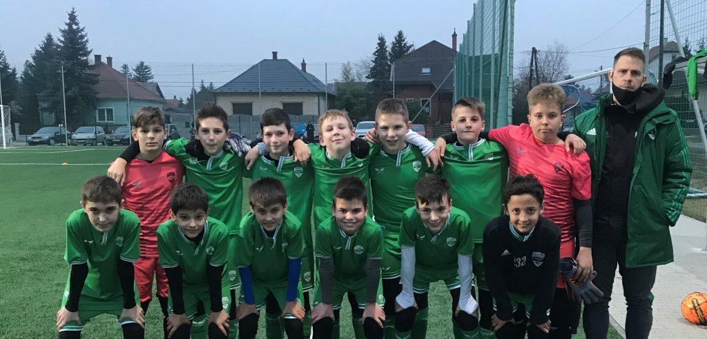 Tizedik győzelmét aratta az Illés Akadémia U12-es csapata