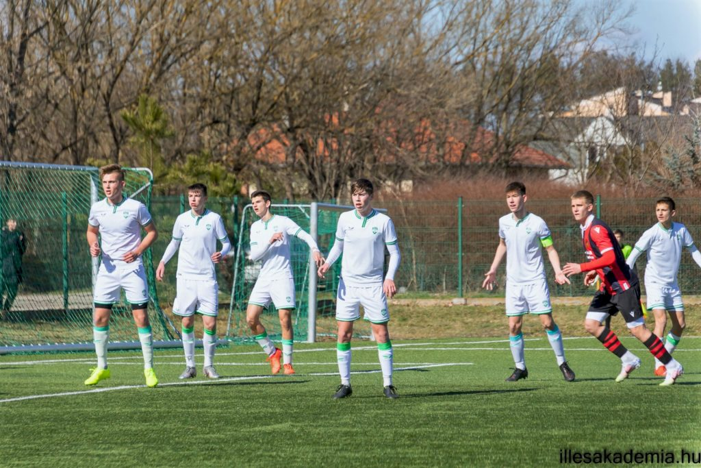 Az U16 két góllal kapott ki idegenben
