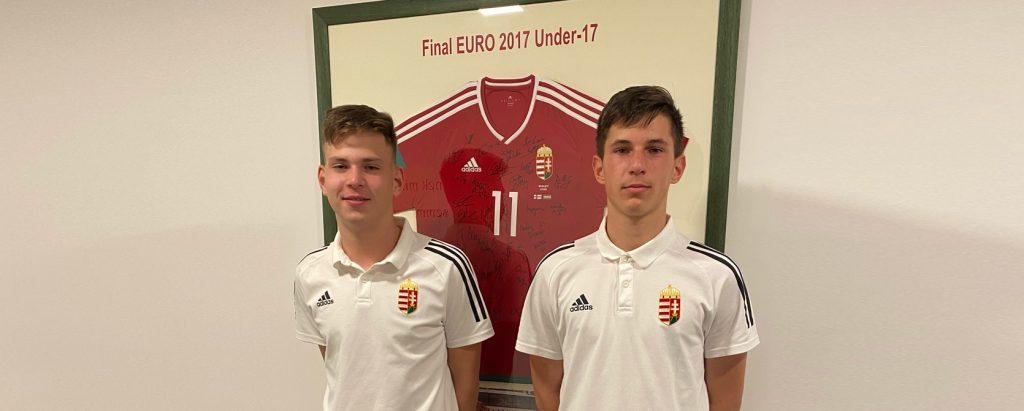Két akadémistánk gyakorolt az U15-ös válogatottal