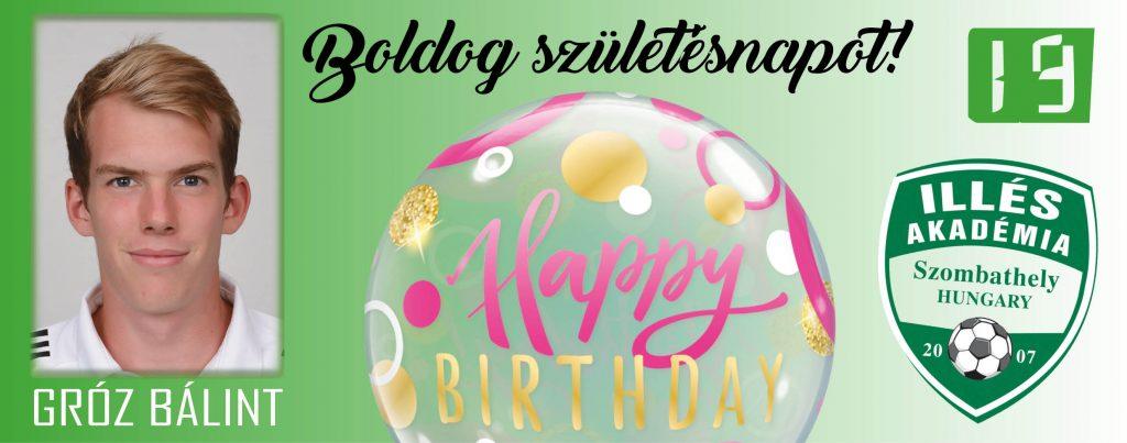 Boldog születésnapot, Bálint!