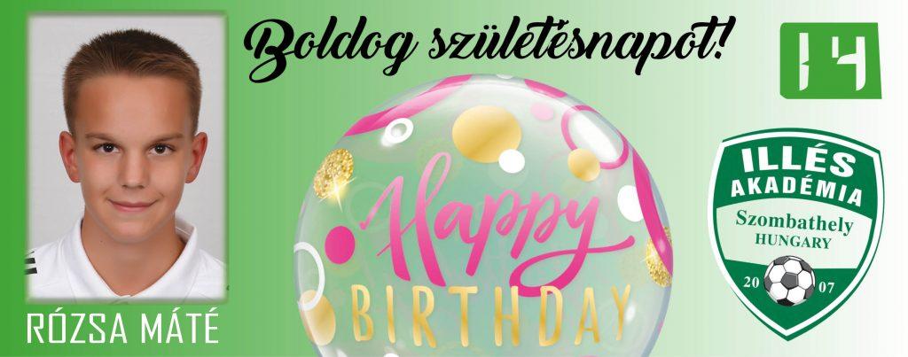 Boldog születésnapot, Máté!